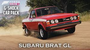 subaru brat 2015 forza horizon 2 subaru brat gl gameplay g shock car pack youtube