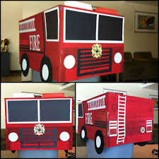 how to make a fire truck from cardboard boxes google search