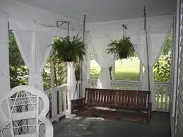 Outdoor Sheer Curtains For Patio Inexpensive Sheer Curtains Add Privacy To Screened Porch 11 With