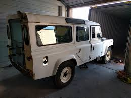 white land rover defender fully restored upgraded land rover defender 110 reborn for the