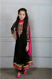 maria b eid collection 2016 pakistani kids party wear