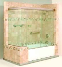 Frameless Shower Doors For Bathtubs Bathtubs Glass Shower Doors Above Tub Bathtub Glass Doors