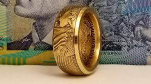How To Make Jewelry To Sell Online How To Make A Coin Ring From A 1 Oz Us Gold Eagle Youtube