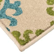 2 X 5 Area Rugs Orian Rugs Floating Floral Promise Indoor Outdoor Area Rug 5 U00272