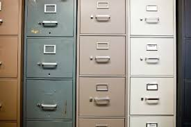 Upcycled Metal Filing Cabinet 5 Easy Tips For Painting A Metal Filing Cabinet Doityourself Com