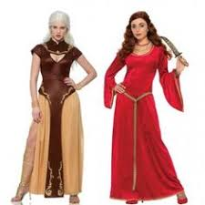 Game Thrones Halloween Costume Game Thrones Cersei Lannister Queen Womens Costume