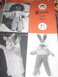 felt golliwog pattern 1950 s felt golliwog golly 12 toy sewing pattern picclick com