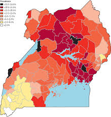 Lake Victoria Map Burden Of Sickle Cell Trait And Disease In The Uganda Sickle