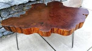 tree ring coffee table tree round table bjrcly com