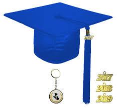 blue graduation cap shiny royal blue graduation cap technical vocational rs4251465607754