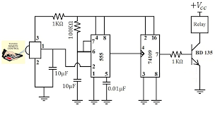 image result for ceiling fan remote circuit diagram