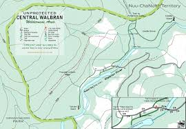 Map Practice Visitor Information Map Friends Of Carmanah Walbran