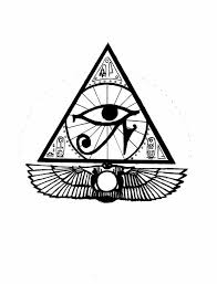 pyramid one eye pencil and in color pyramid one eye