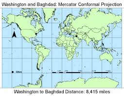 Map Projection Michael Cristescu U0027s Geography 206 Blog Coordinate Systems U0026 Map