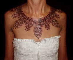 aztec neckless tattoo picture