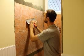 tulip poplar bathroom renovations shower beadboard and tile