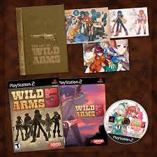 10 best wild arms images pics wild arms 5 limited edition package wired
