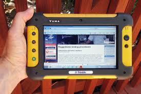 rugged handheld pc rugged pc review rugged tablet pcs trimble yuma