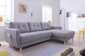 canapé couleur bestmobilier oslo canapé d angle droit 225x147x86cm couleur