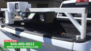 hitch works tow hitch step with led lights youtube