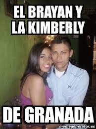 Kimberly Meme - meme personalizado el brayan y la kimberly de granada 21707306