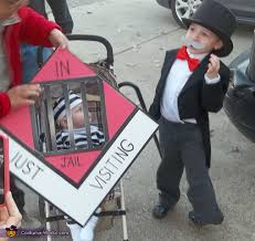 Halloween Jail Costumes Uncle Pennybags Jail Costume Photo 2 5