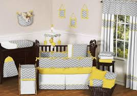 Nursery Decor Accessories Baby Nursery Engaging Light Grey Yellow Black And White Baby