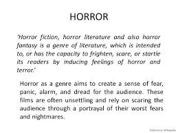 fantasy film genre conventions genre conventions science fiction horror science fiction fantasy