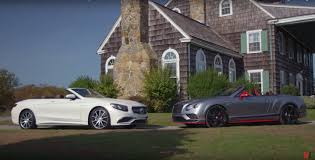 first bentley ever made mercedes amg s65 fights ugliest bentley ever in 500 000