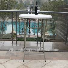 Plastic Bar Table Plastic High Top Bar Tables Standing Round Table View Plastic Bar