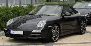 Porsche 911 Black - file porsche 911 cabriolet black edition 997 facelift