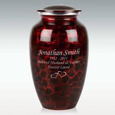 creamation urns black brushed cremation urn engravable