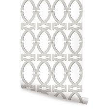 Moroccan Small Pattern Wallpaper Peel by Links Wallpaper Nickel Peel And Stick