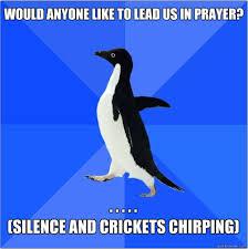 Crickets Chirping Meme - christian meme