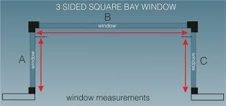 Bay Window Roller Blinds How To Measure For Bay Window Blinds