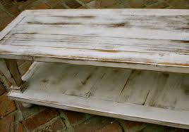 White Distressed Desk by Table White Distressed Wood Coffee Table Home Interior Design