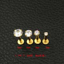 3mm diamond diamond nail stud online diamond stud nail jewelry for sale