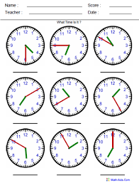 telling time lessons tes teach
