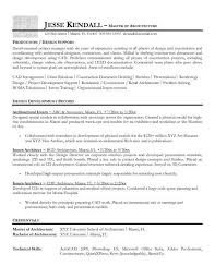 Architecture Resume Architectural Resume Template Billybullock Us