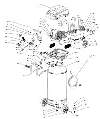 kobalt 30 gallon air compressor f2s26vwdvp 671049 husky parts