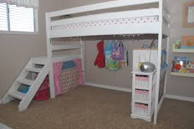 girls loft bed desk loft bed with closet image of unique loft bed with walk in closet