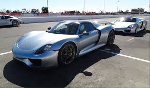 seinfeld porsche 918 918 test drive at infineon sears point on wednesday june 25th