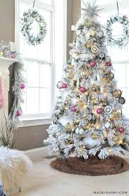 white christmas tree with multicolor lights flocked tree s white flocked christmas tree with colored lights