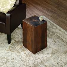 viabella stump side table 420126 sauder