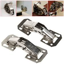 door hinges kitchen cabinets promotion shop for promotional door 2pcs easy mount 90 degree concealed kitchen cabinet cupboard sprung door hinges