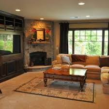 Living Room Fireplace Ideas - 25 corner fireplace living room ideas you u0027ll love living rooms