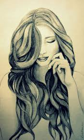 awesome sketches to draw of girls hair drawing instagram