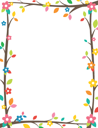 printable tree branch border use the border in microsoft word or
