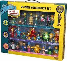 simpsons 25 figurines set series 4 6 co uk toys