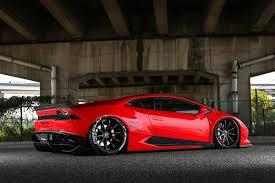 Lamborghini Huracan With Spoiler - liberty walk gives the lamborghini huracan the wide look